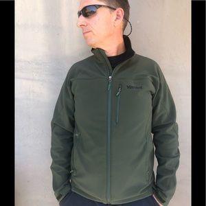 Marmot Mens Jacket Size medium Green